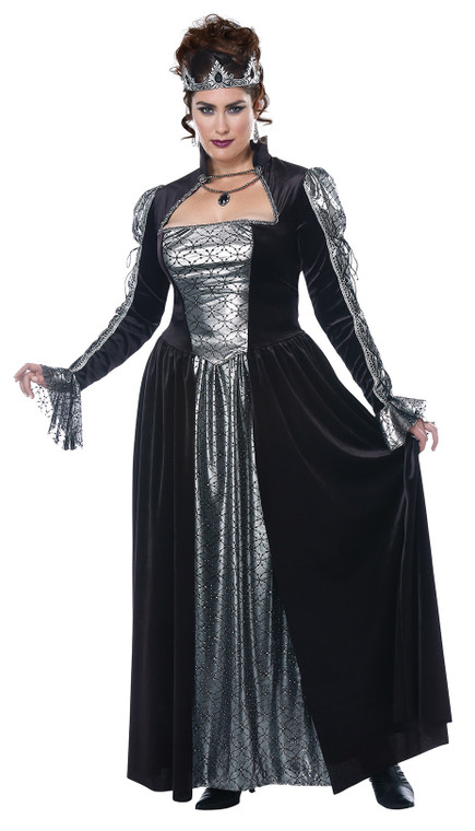 Dark Majesty Womens Plus Size Costume