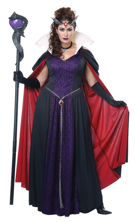 Evil Storybook Queen Plus Size Womans Costume