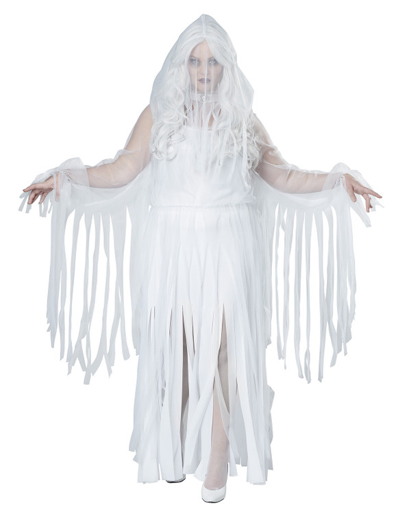 Ghostly Spirit Womans Plus Size Costume