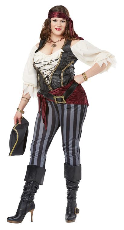 Brazen Buccaneer Womans Plus Size Costume