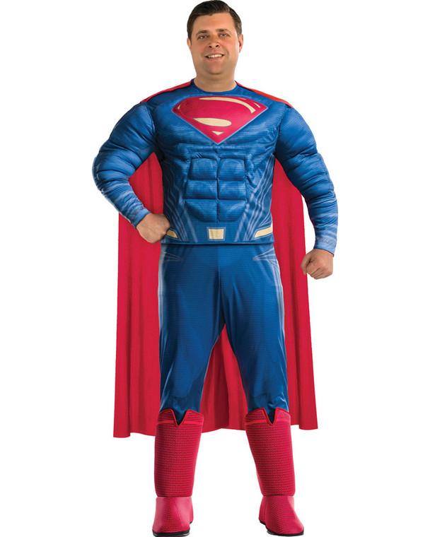 Superman Muscle Costume - Plus Size