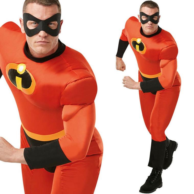 Mr Incredible Adult Costume