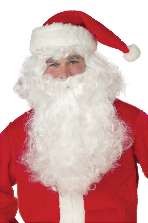 Santa Claus Costume Wig & Beard