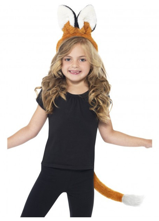 Fox Kids Headband & Tail
