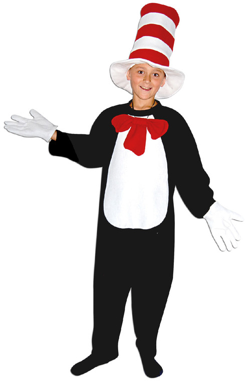 Cat In The Hat Childs Costume