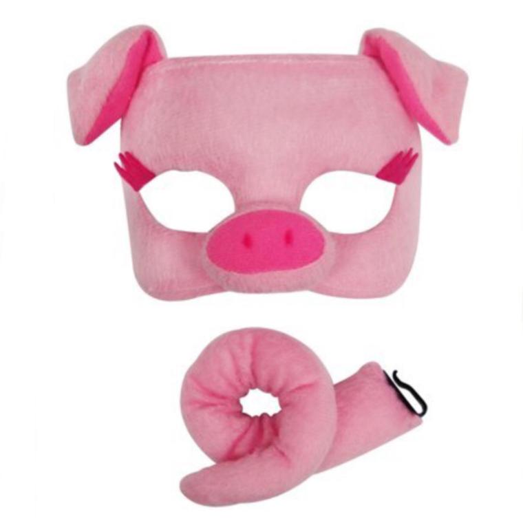 Pig Deluxe Animal Set