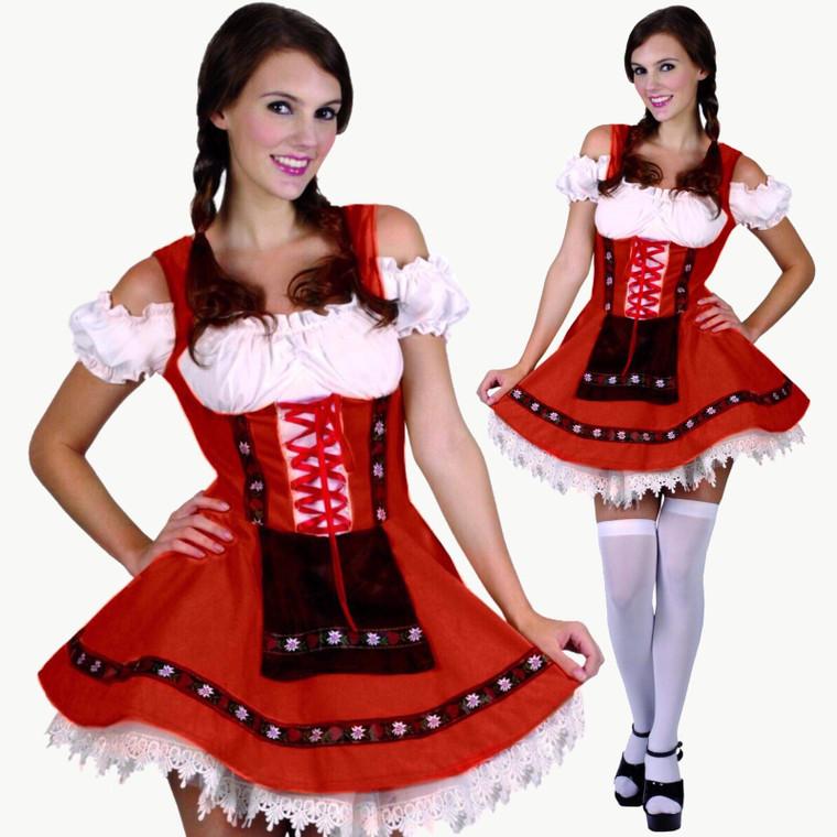 Sweet Maiden Oktoberfest Ladies Costume