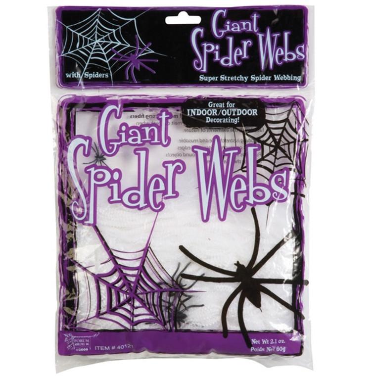 Spider Web & 4 Spiders Prop 56G