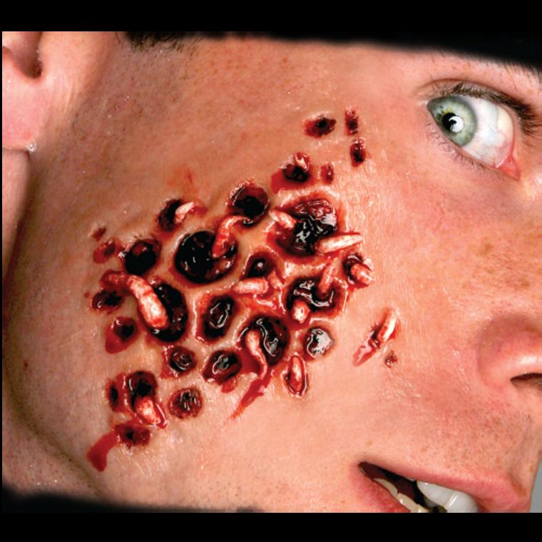 FX Transfers Trypophobia With Maggots