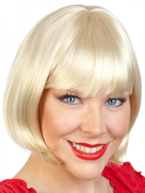 Blond Paige Bob Costume Wig