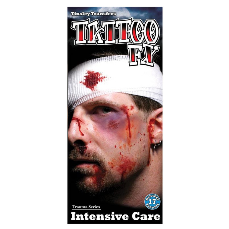 Intensive Care Temporary Tattoo