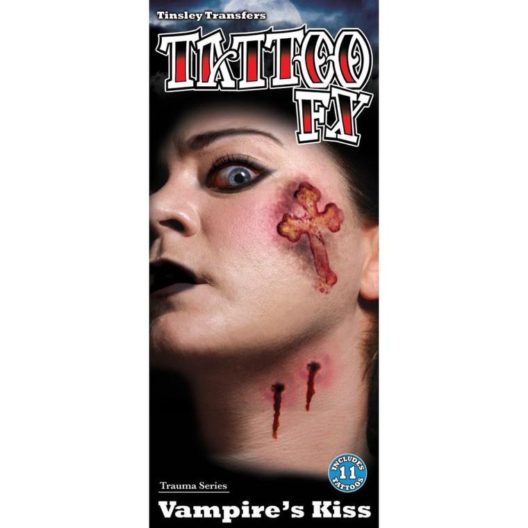 Vampire's Kiss Temporary Tattoo