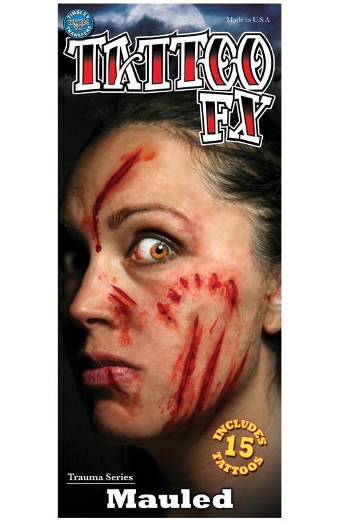 Mauled Trauma Tattoo FX