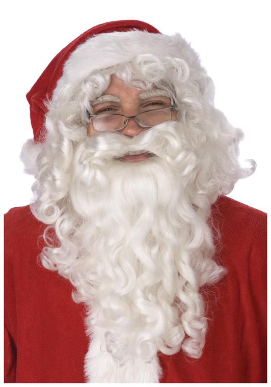 Economy Santa Wig & Beard