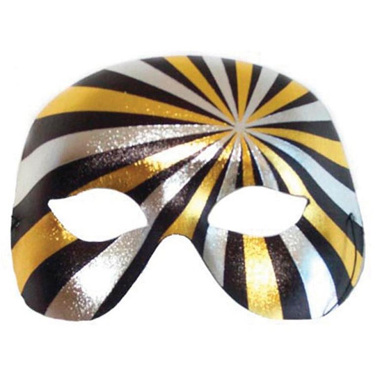 PSYCHO Gold & Silver Eye Mask