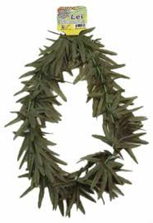 Hippie Green Leaf Lei
