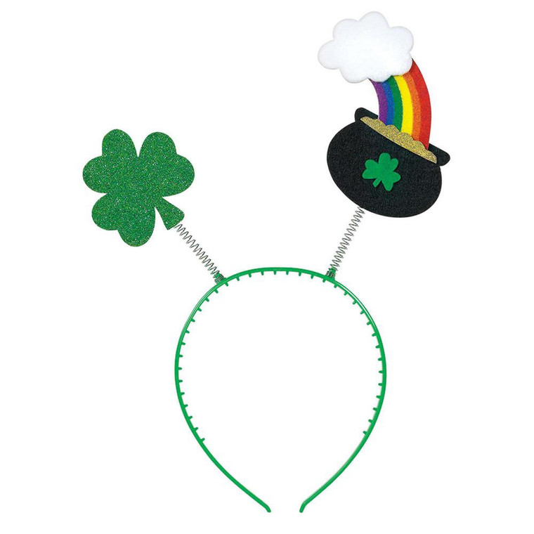 St Patricks Day Headbopper Pot Of Gold
