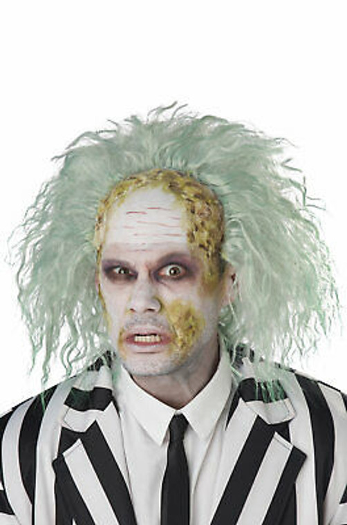 Obnoxious Ghost Bald Costume Wig