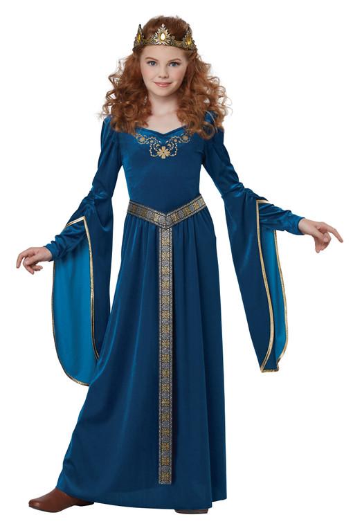 Medieval Girls Princess Costume