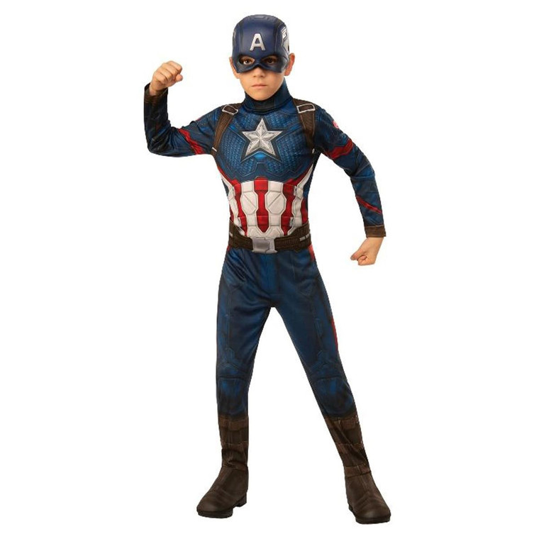 Captain America End Game Boys Costume