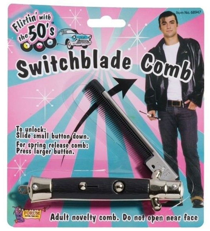 Switch Blade Toy Comb