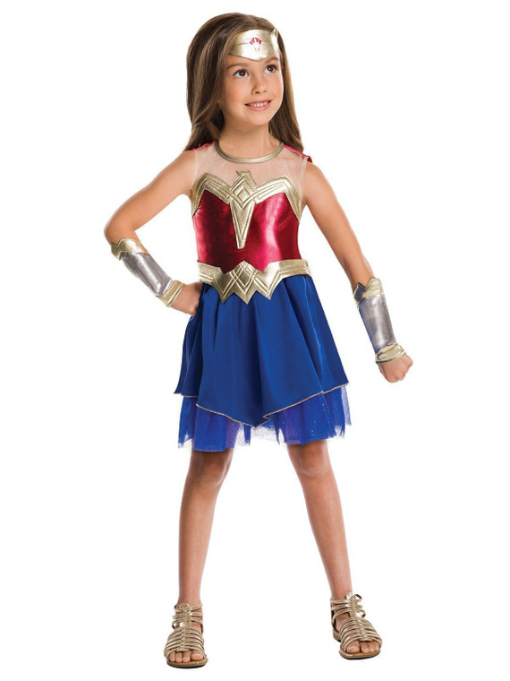 Wonder Woman Justice League Girls Costume