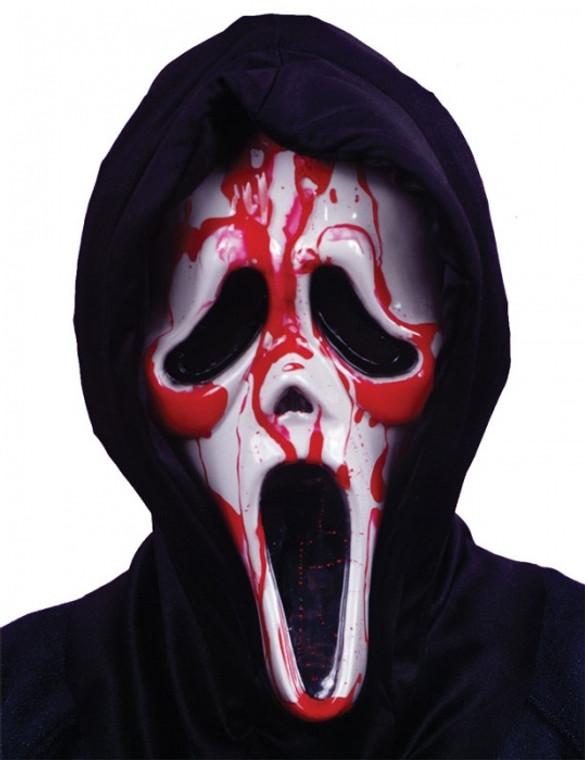 Ghost Face Bleeding Scream Mask