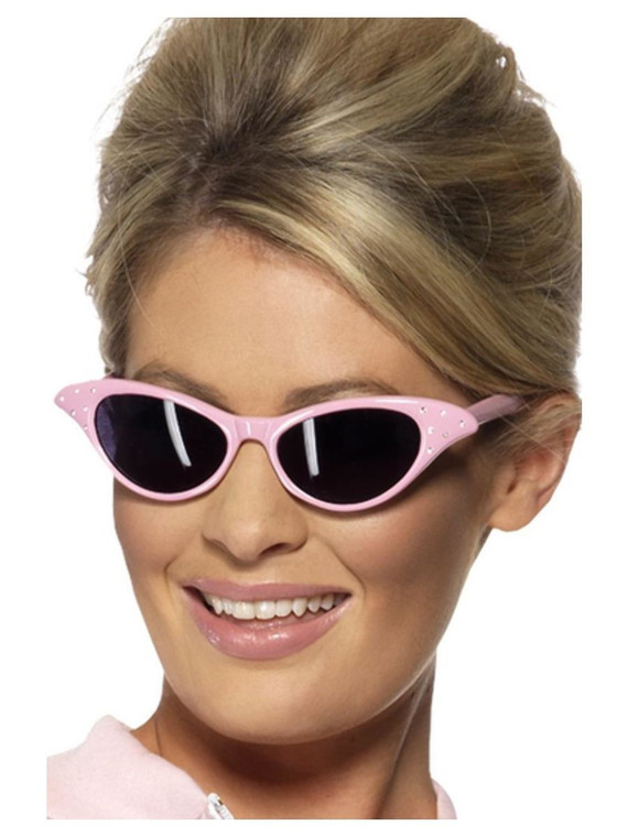 Pink Rock & Roll Flyaway Sunglasses