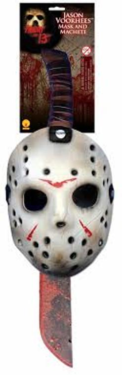 Jason Mask and Machete