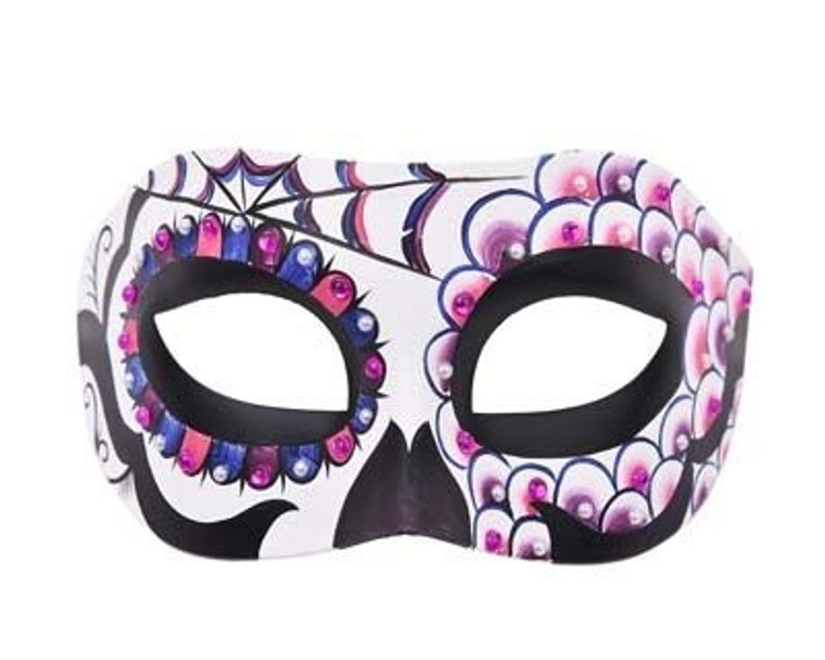 Adella Masquerade Eye Mask With Jewels