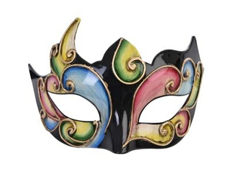 Alzena Masquerade Multi-Coloured Eye Mask