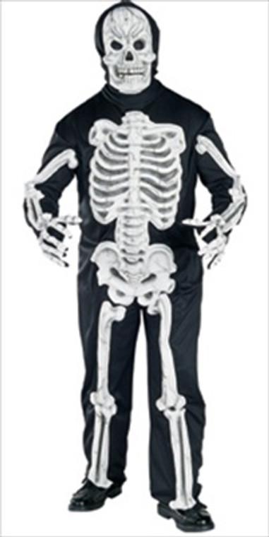 Skeleton Eva Costume Plus Size