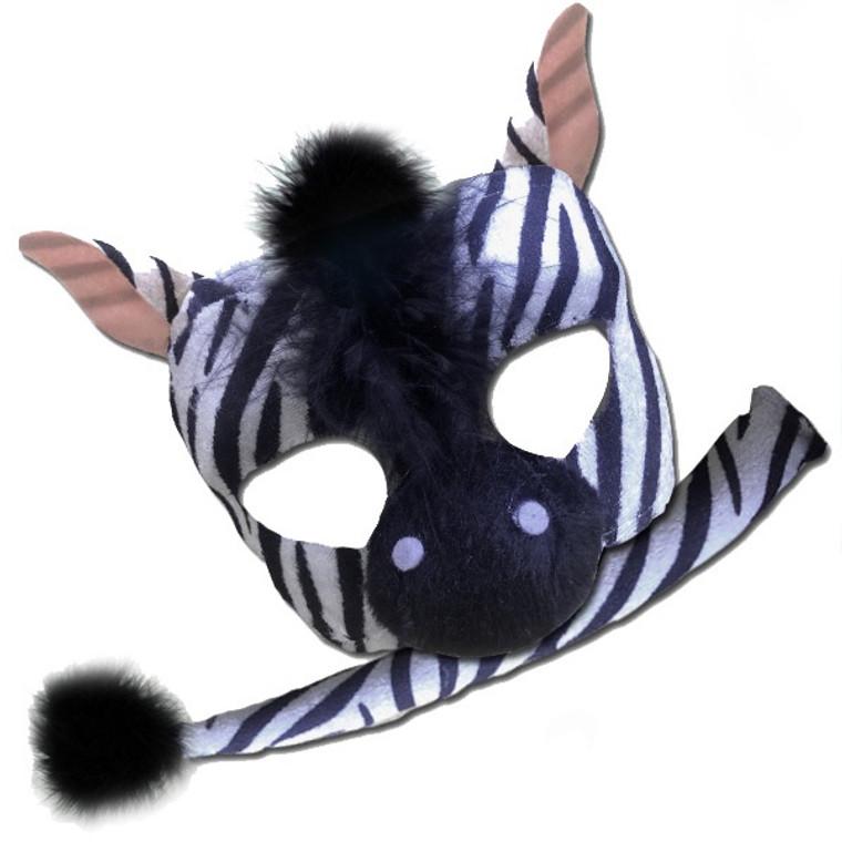 Zebra Deluxe Animal Kids Mask