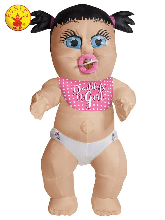 Daddy's Lil Girl Inflatable Baby Costume