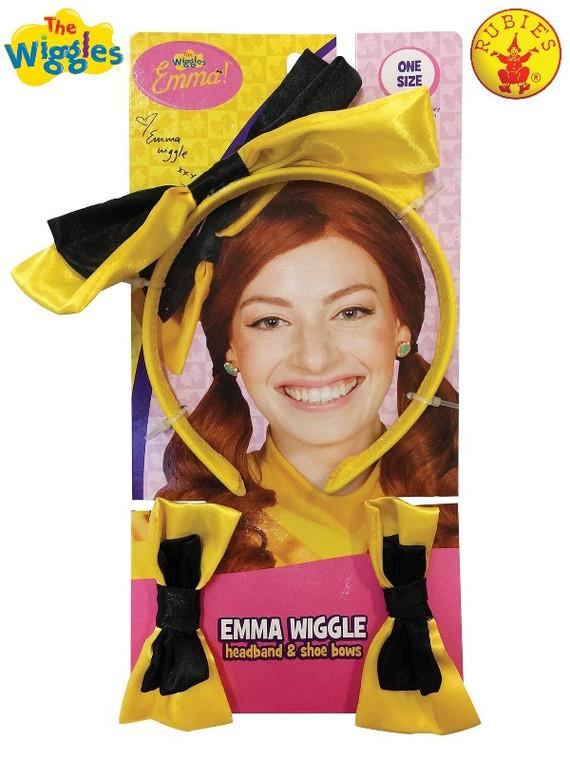 Emma Wiggle Headband & Shoe Bows
