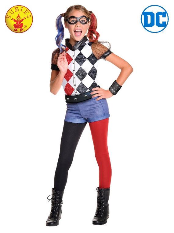 Harley Quinn Deluxe Girls Costume