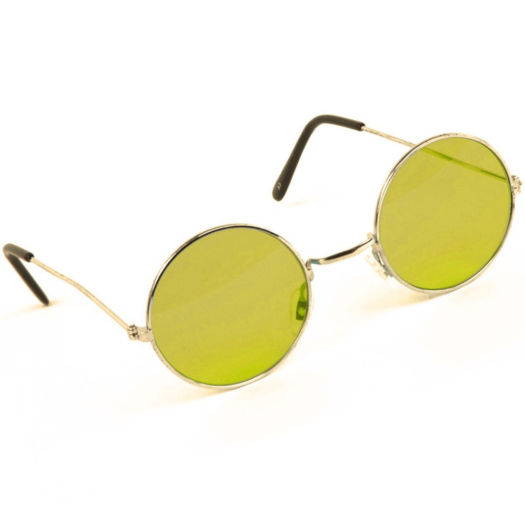 Yellow Lennon Glasses