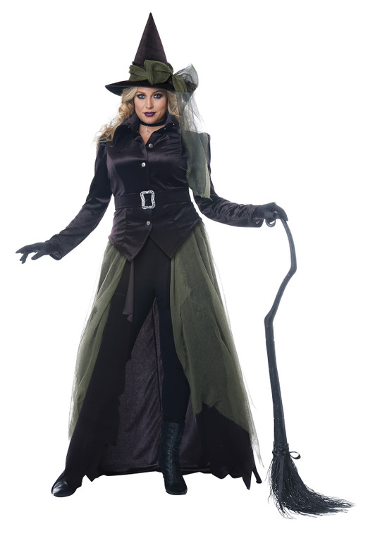 Gothic Witch Costume - Plus Size