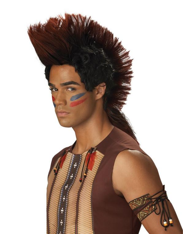 Indian Warrior Costume Wig