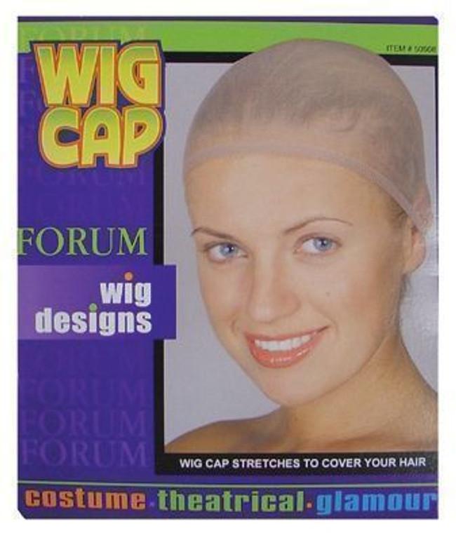 Wig Costume Cap