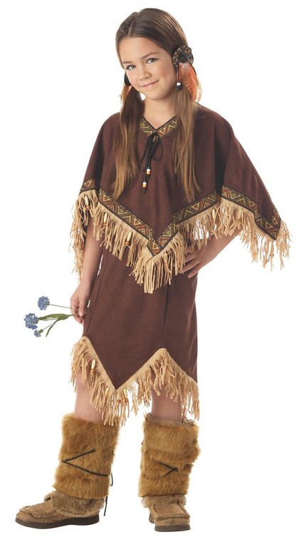 Princess Wildflower Indian Childs Costume - Disney