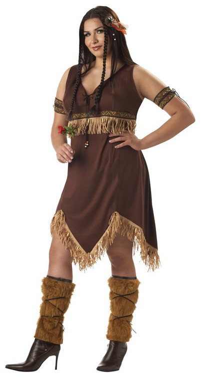 Sexy Indian Princess Costume Plus Size
