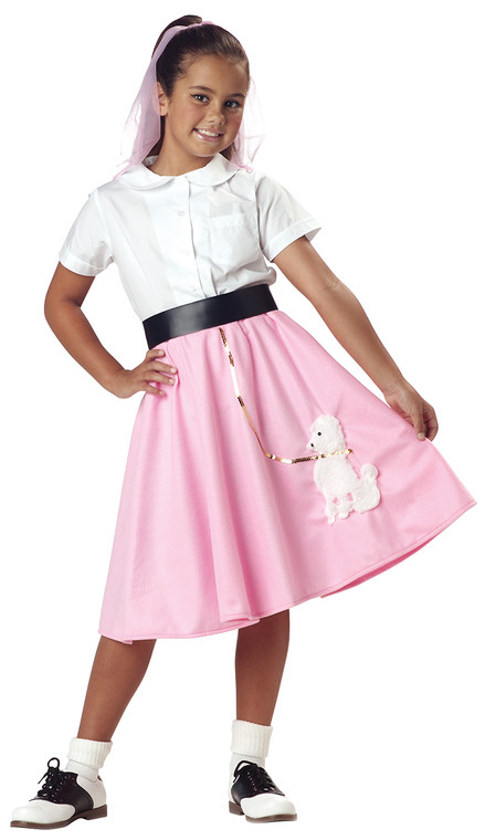 Poodle Skirt Childs Costume