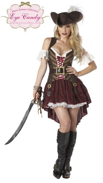 Deluxe Sexy Swashbuckler Pirate Costume