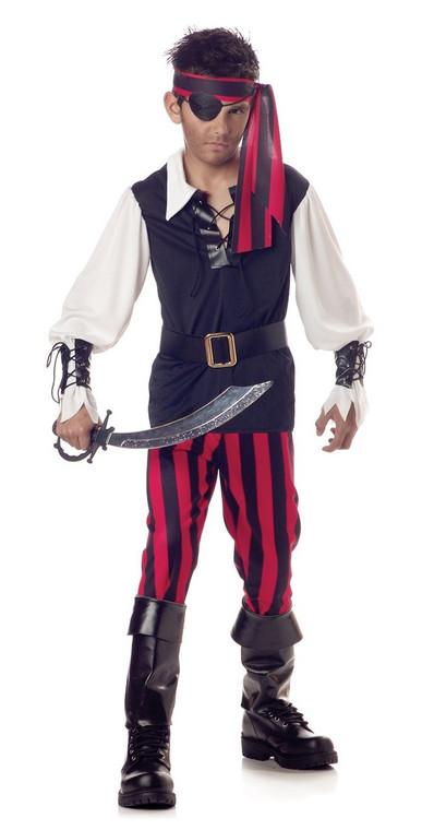 Cut Throat Pirate Childs Costume