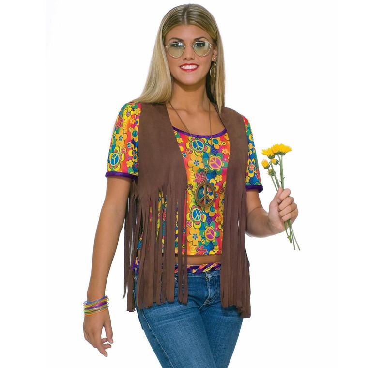 Fringed Womens Hippie Vest