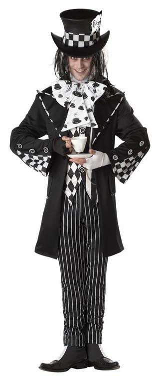 Dark Mad Hatter Costume Alice in Wonderland
