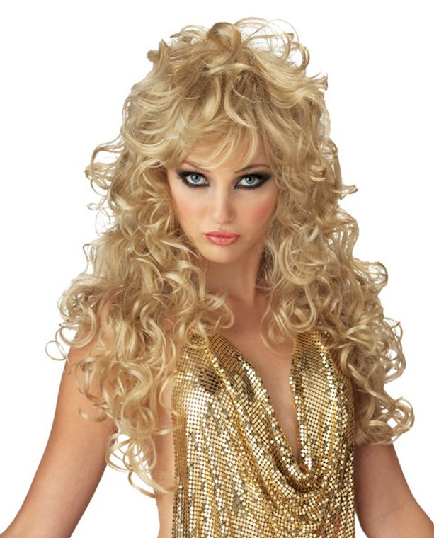 Seduction Costume Wig - Blonde