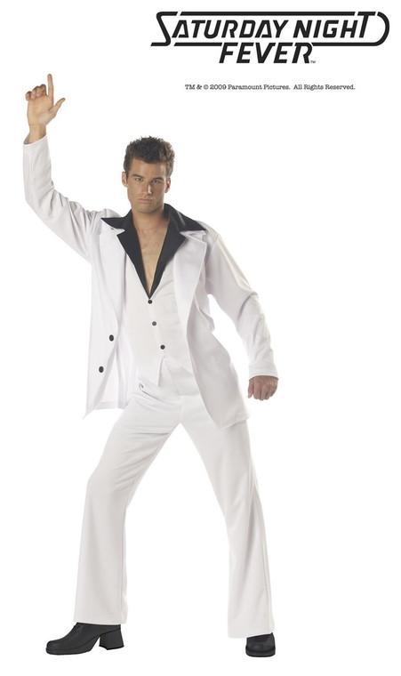 Disco Dude Costume Saturday Night Fever