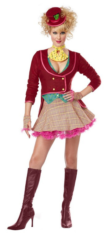 The Mad Hatter Womens Costume